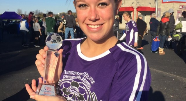 Abner receives MVP at All Star Game