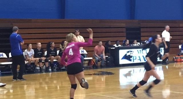 Mulberry High School Girls Varsity Volleyball beat Auburndale Senior High School 3-1