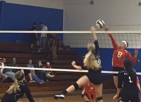 Mulberry High School Girls Varsity Volleyball beat Lake Wales High School 3-0