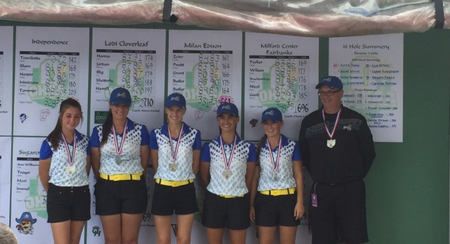 Girls Golf OHSAA State Runner-Up