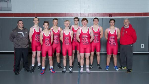 Wrestling Team Picture