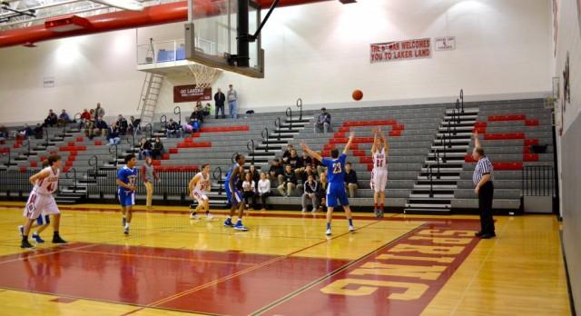 Spring Lake High School Boys Junior Varsity Basketball beat Grand Rapids Catholic Central High School 47-44
