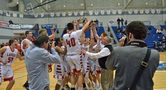 Spring Lake High School Boys Varsity Basketball beat GR CATHOLIC CENTRAL 57-48