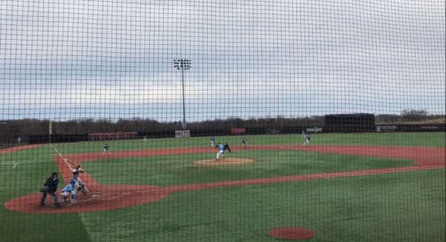 Spring Lake High School Varsity Baseball falls to Grand Rapids Christian High School 3-2