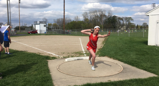 Spring Lake High School Girls Varsity Track finishes 1st place