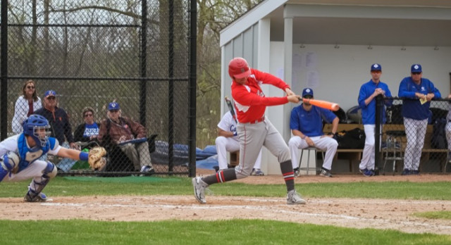 Spring Lake High School Varsity Baseball falls to Grand Rapids Catholic Central High School 7-6