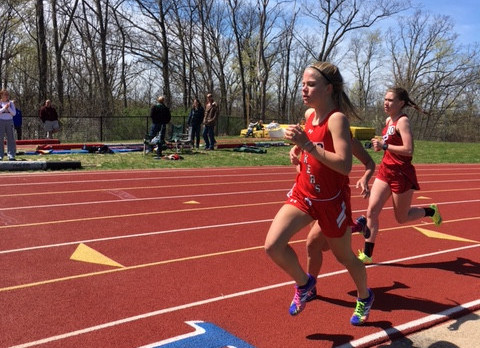 Spring Lake High School Girls Varsity Track finishes 3rd place