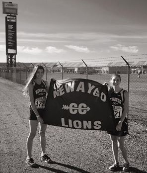 Ellie & Sam Compete at State CC Meet