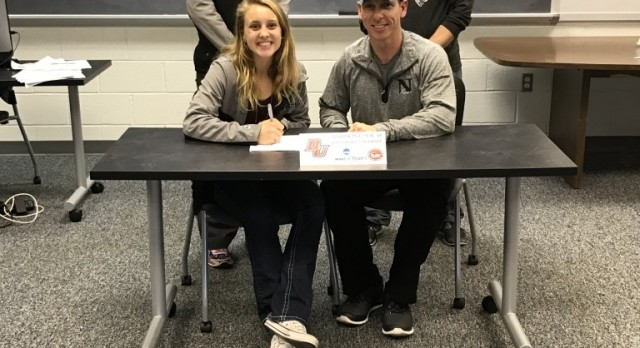 Madison Cook Signs With Division II Davenport University