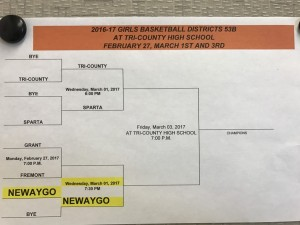 District Bracket