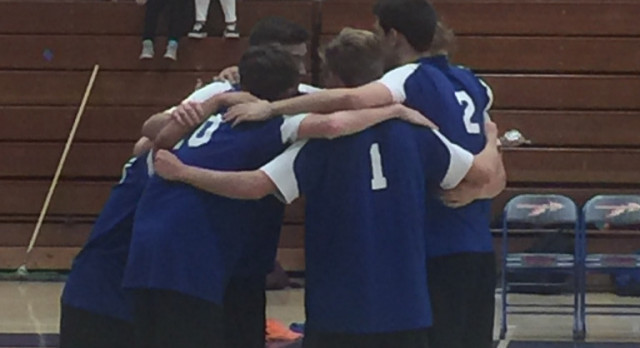 Boys Volleyball wins!!