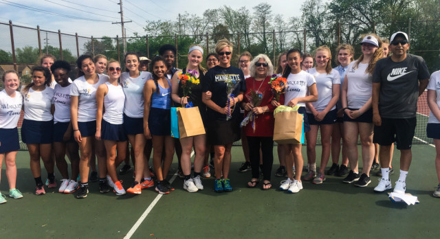 Lady Blazers Emerge Victorious on Senior Day