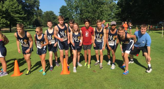 Cross Country Shines at New Prairie Kickoff