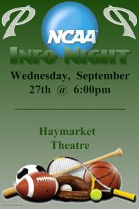 NCAA Info Night