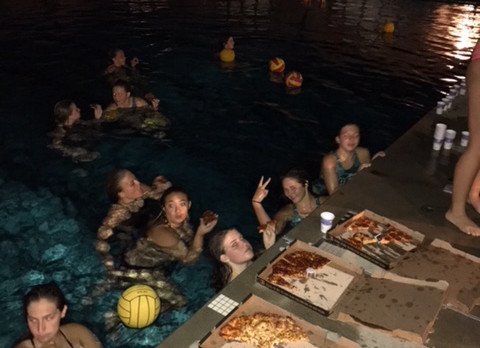 Girls Water Polo Tread-A-Thon