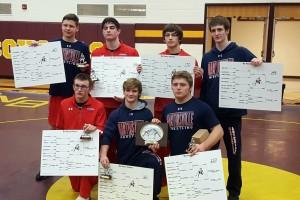 7 Individual Champions (Keaten Fisher, Dexter Grubb, Cody Drake, Micah Dodson, Ethan Runyan, Griffin Stine, Clayton Scroggs)