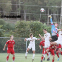 9/28/17 Martinsville boys soccer at Bloomington North