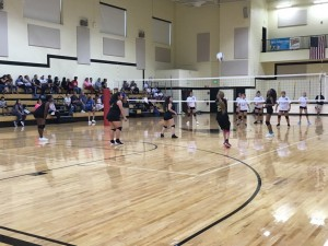 MS volleyball v Hammond Clark