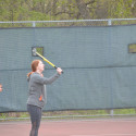 Girls Varsity and JV Tennis  vs.  River Forest