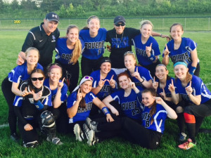 Softball OAA Champs 2017