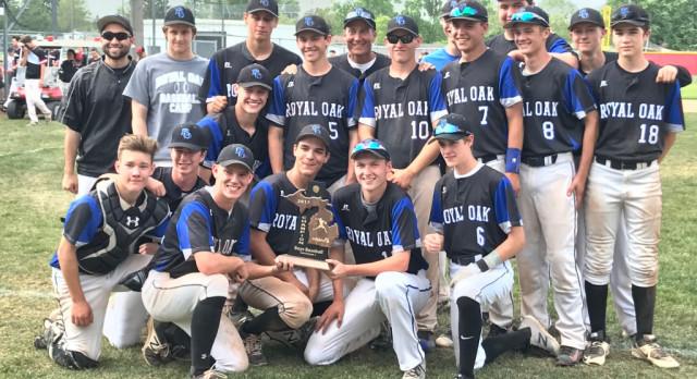 ROHS Baseball: MHSAA District Champions!