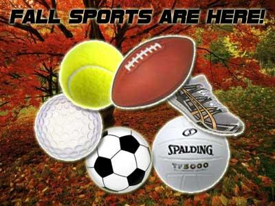 Fall Sports are Here!