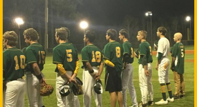 Laurens District 55 High School Varsity Baseball beat Emerald High School 4-2