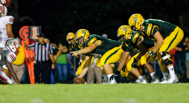 Laurens District 55 High School Varsity Football beat Clinton High School 24-18