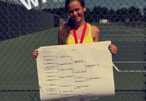 Laurens District 55 High School Girls Varsity Tennis Off to Good Start