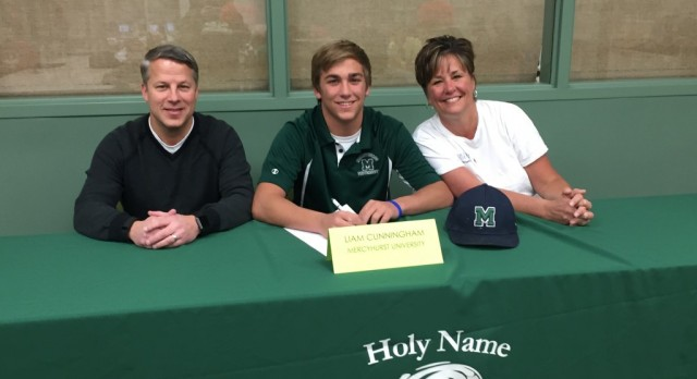 Baseball's Liam Cunningham Signs with Mercyhurst