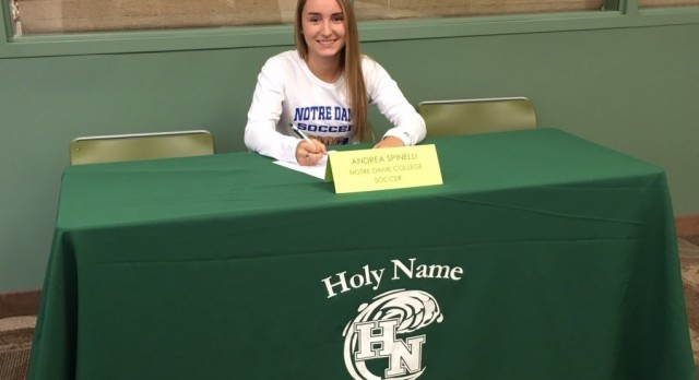 Andrea Spinelli Commits to NDC for Soccer