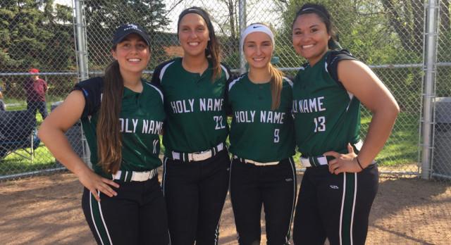 Softball Senior Night Honors Four Class of 2017 Athletes