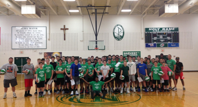 Boys Hoops Camp Finishes Great Week