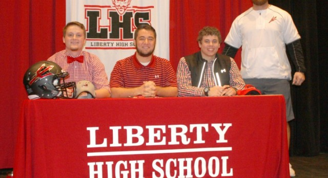 Three Red Devil Football Players Sign With North Greenville University