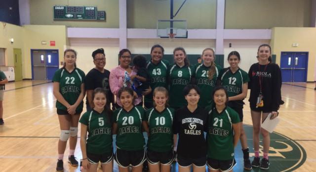 Varsity Volleyball improves to 15-1!