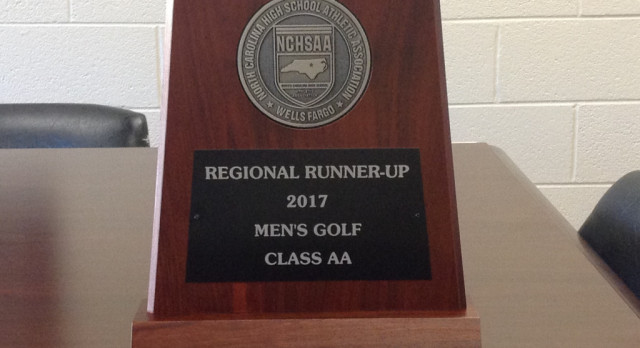 Draughn Mens Golf Finish 2nd at State Regional Match