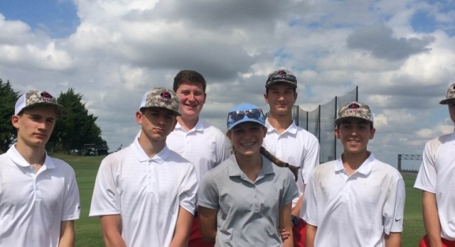 Golf Competes at The Old Brickyard Invitational
