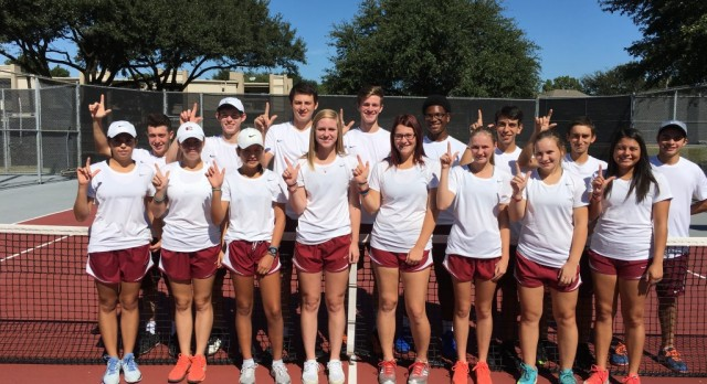 Tennis District 17-5A Champions