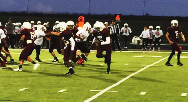 8th Grade White Gets Blowout Win vs. Forney Brown