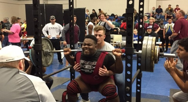 Rice Powerlifting Results
