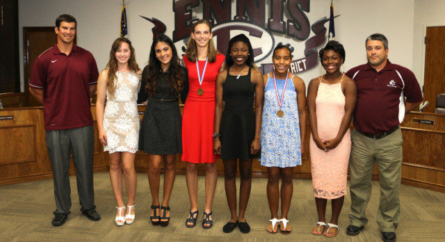 Girls Track Recognized
