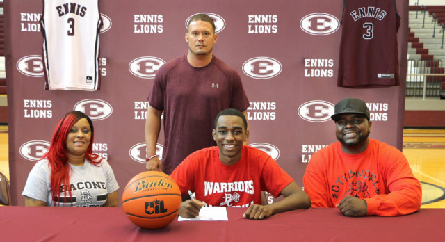 Brandon Anderson Signs With Bacone College