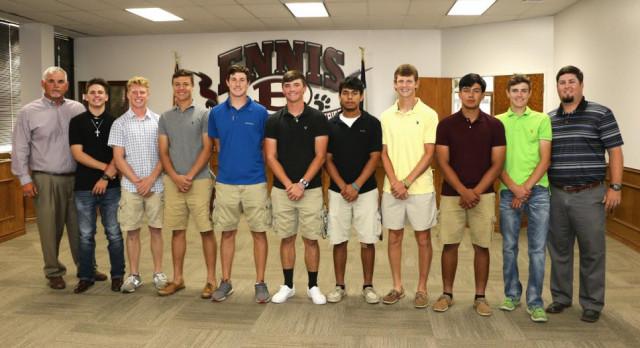 Varsity Baseball Recognized at School Board Meeting