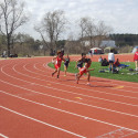 BHS Girls track in action