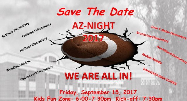 SAVE THE DATE AZ NIGHT IS BACK!