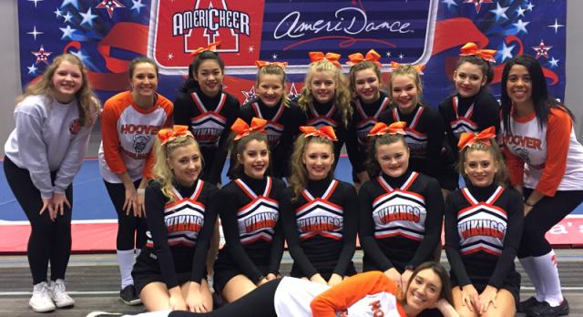Congratulations Cheerleaders