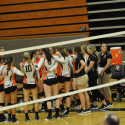 Hoover Varsity Girls Volleyball vs Lake