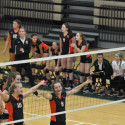 Hoover Varsity Volleyball VS GlenOak