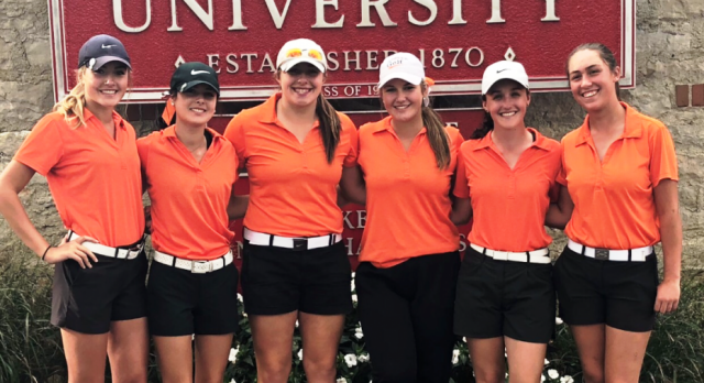 Hoover Girls Golf Finished Well