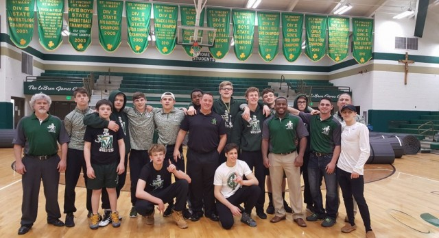 STVM Wrestling Takes 1st Place at Sectionals